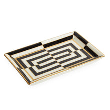 Load image into Gallery viewer, Jonathan Adler Op Art Rectangle Tray