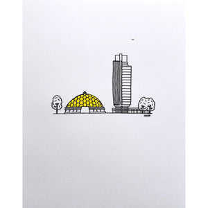 Arjan Jager Illustration Prints (Various Images)