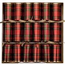 Load image into Gallery viewer, Holiday Crackers-Plaid Celebration