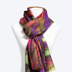 Chihuly Limited Edition Scarf No. 12