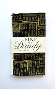 Fine and Dandy City Planner Panelled Pocket Square