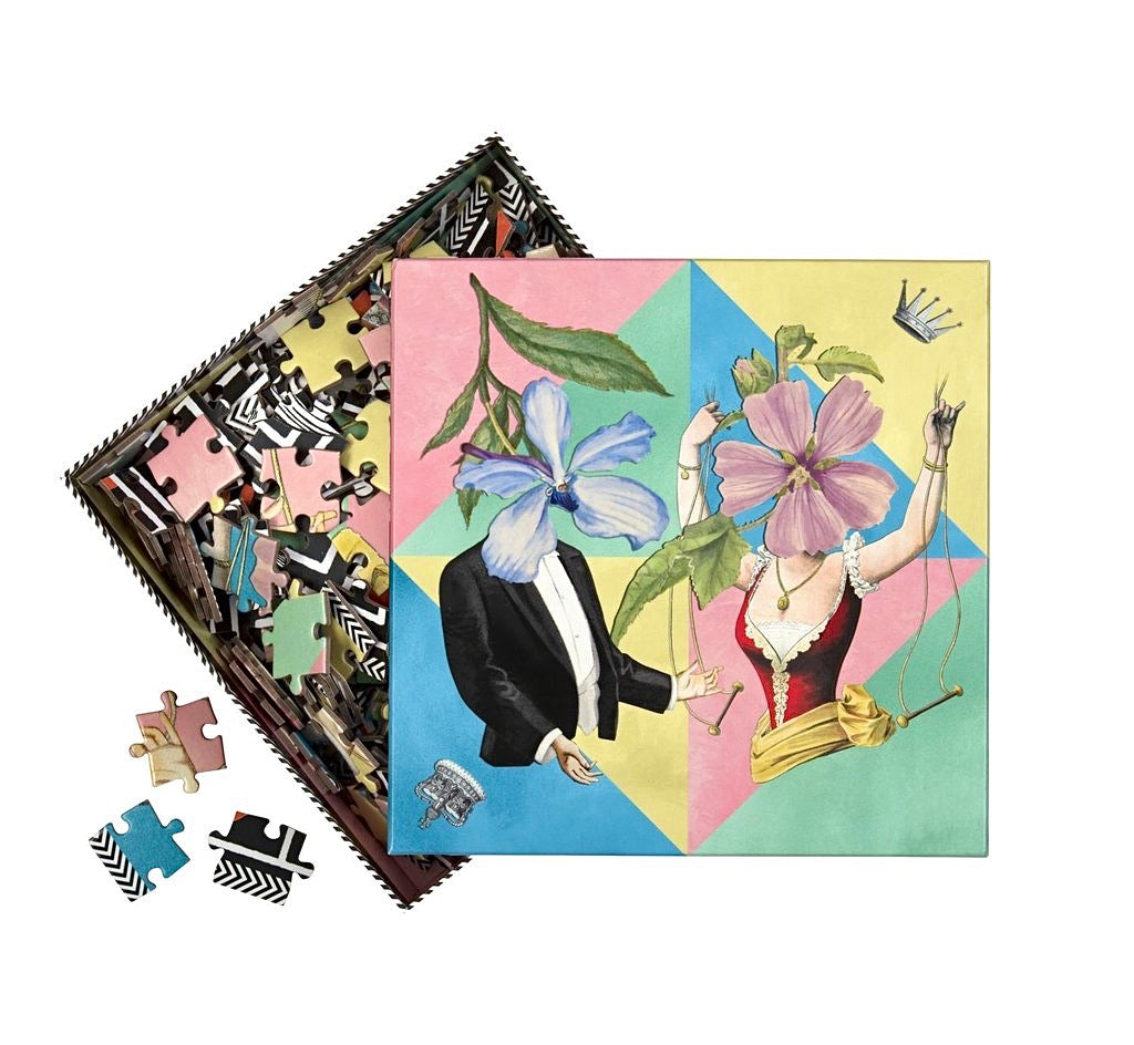 Christian Lacroix Let's Play Two Sided Jigsaw Puzzle