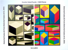 Load image into Gallery viewer, MoMA Sol Lewitt 500 Piece Double Sided Puzzle