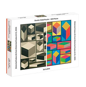 MoMA Sol Lewitt 500 Piece Double Sided Puzzle