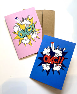 Arjan Jager OKC!! Note Card
