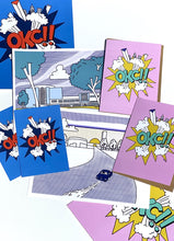 Load image into Gallery viewer, Arjan Jager OKC Skyline Post Card