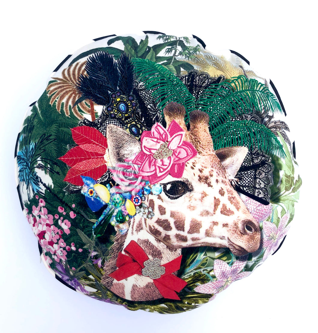Christian Lacroix Dona Jirafa Opiat  Pillow