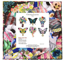 Load image into Gallery viewer, Christian Lacroix Frivolites Fan Diecut Boxed Notecards