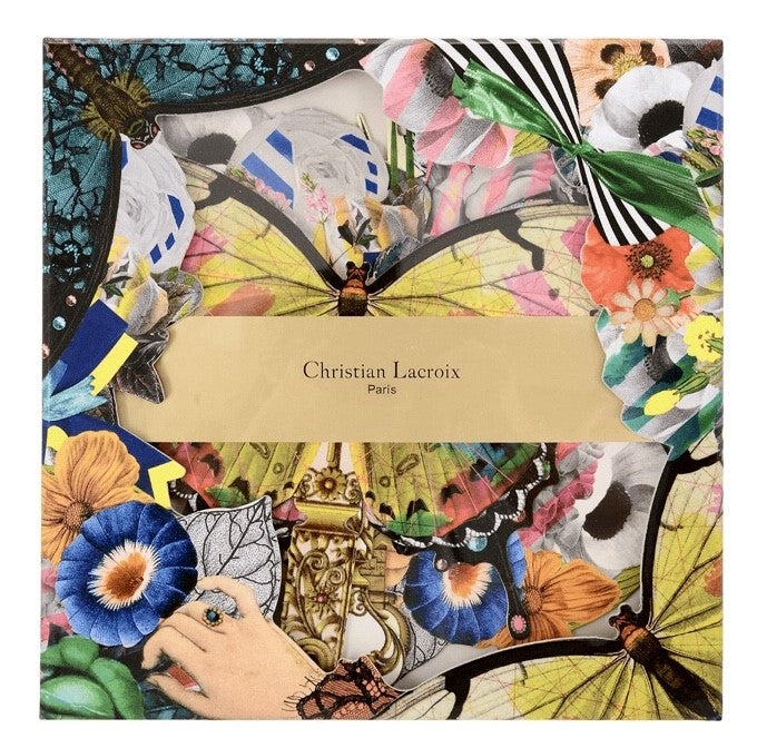 Christian Lacroix Frivolites Fan Diecut Boxed Notecards