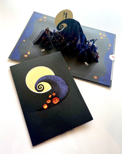 Love Pop x Disney's Tim Burton's The Nightmare Before Christmas 3D card