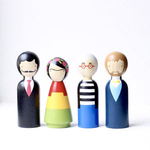 The Modern Artists I Wooden Dolls