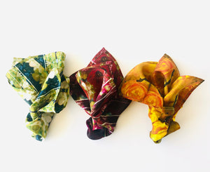 Floral Photography Silk Pocket-Squares