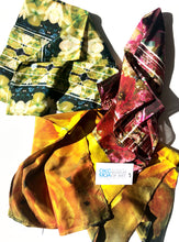 Load image into Gallery viewer, Floral Photography Silk Scarves