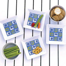 Load image into Gallery viewer, Atomic Melamine Appetizer Plates