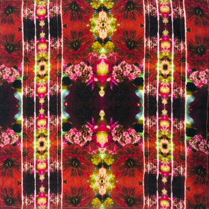 Floral Photography Silk Neckerchiefs