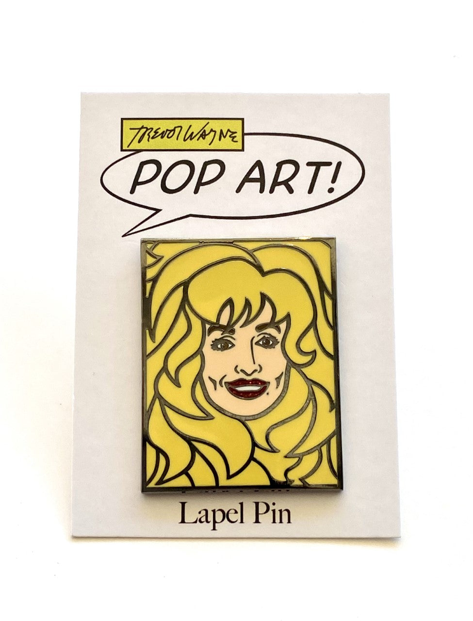 Trevor Wayne Dolly Parton Lapel Pin