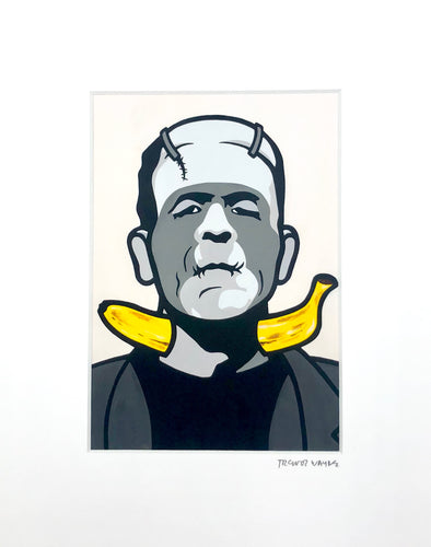 Trevor Wayne Horror Banana Series Prints