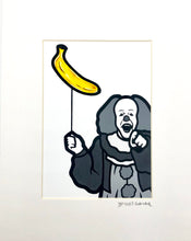 Load image into Gallery viewer, Trevor Wayne Horror Banana Series Prints