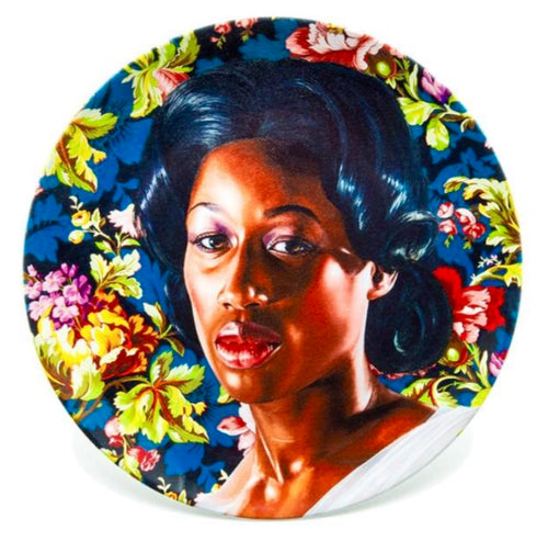 Kehinde Wiley Porcelain Plate Series