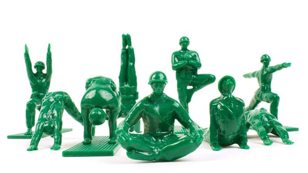 Yoga Joes Green Series 1 Set