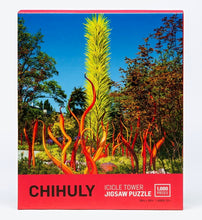 Load image into Gallery viewer, Chihuly Pure Imagination Icicle Tower Jigsaw Puzzle
