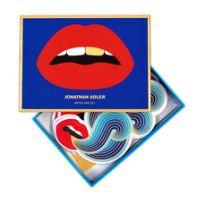 Load image into Gallery viewer, Jonathan Adler Lips Notecard Set