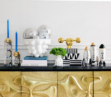 Load image into Gallery viewer, Jonathan Adler Whiskey Rocket Decanter