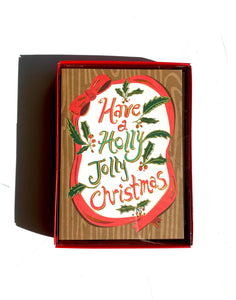 Have a Holly Jolly Christmas Notecard Set