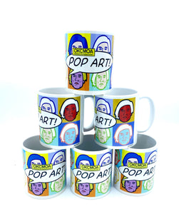 OKCMOA Pop Art! Warhol Mug