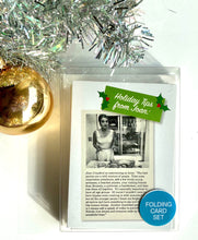 Load image into Gallery viewer, Retro Holiday Card Set