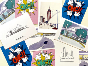 Arjan Jager OKC! Post Card