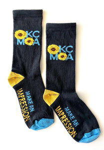 OKCMOA Impression Socks