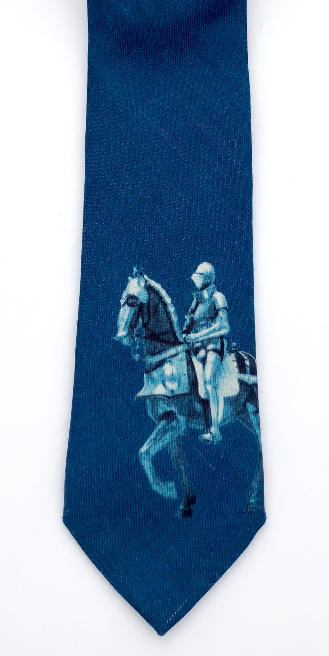 Armored Horse and Rider Tie