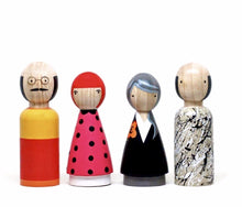 Load image into Gallery viewer, The Modern Artists II Wooden Dolls