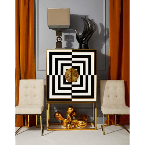 Jonathan Adler Op Art Bar