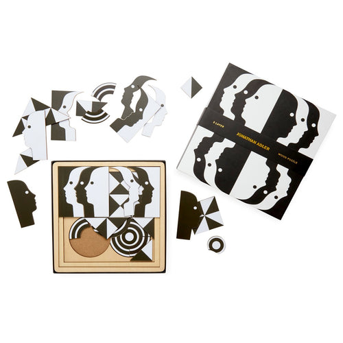 Jonathan Adler Atlas 3 Layer Wooden Puzzle