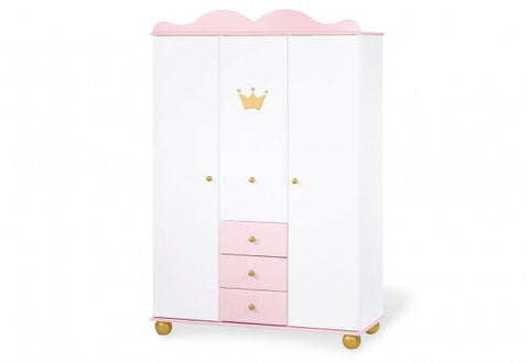 Pinolino 'Princess Karolin' Wardrobe - The Stork Has Landed