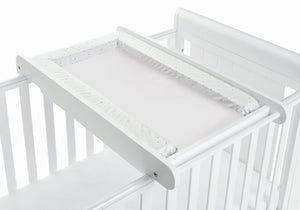 Babymore Cot Top Changer - White - The Stork Has Landed