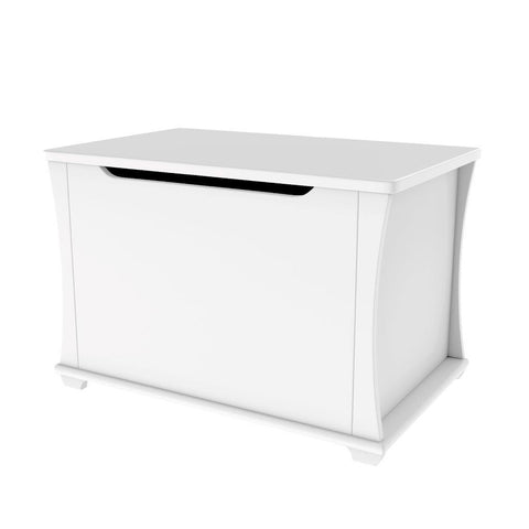 Image of Babymore Bel Toy Chest - White - The Stork Has Landed