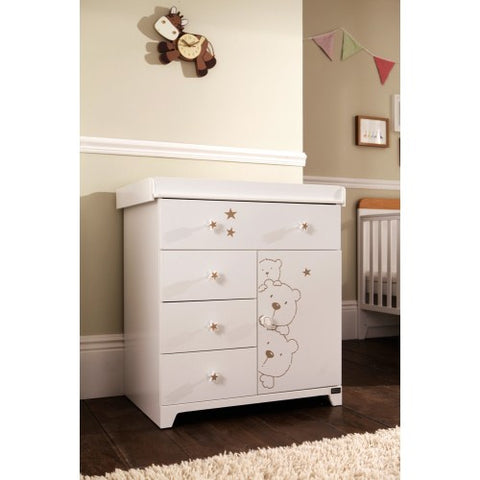 Image of Tutti Bambini - Bears Drawer Chest Changer - The Stork Has Landed