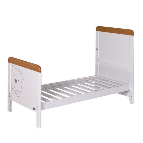 Image of Tutti Bambini - Bears 2 Piece Set with Sprung Mattress - The Stork Has Landed