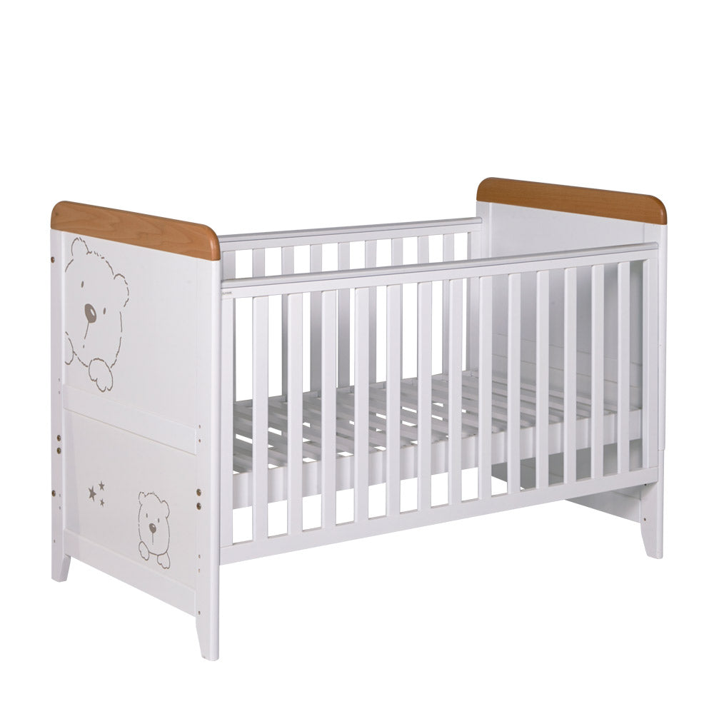 Tutti Bambini Bears Cot Bed - The Stork Has Landed