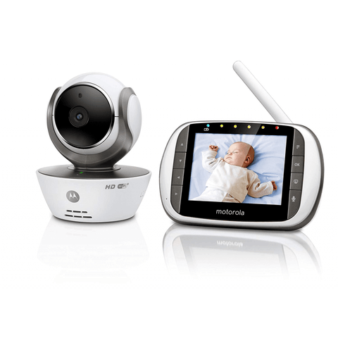 Image of Motorola MBP853 Connect Wifi Video Baby Monitor - The Stork Has Landed