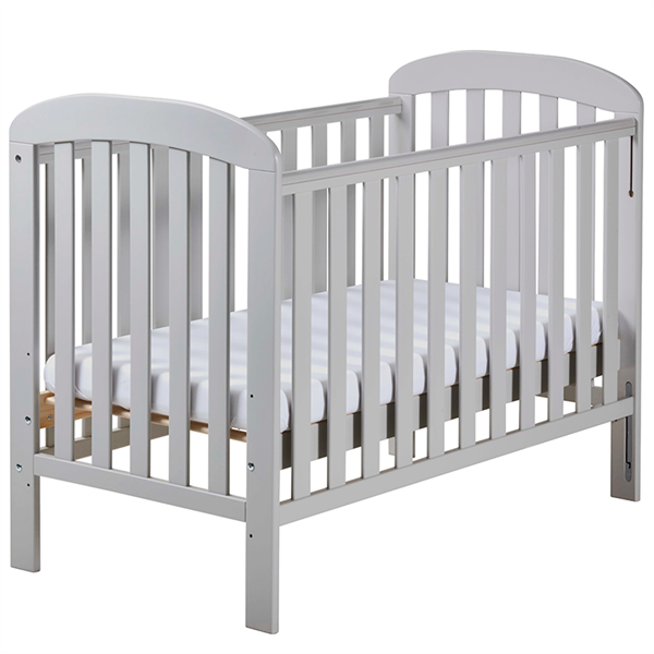 East Coast Anna Dropside Cot - Cocoa - The Stork Has Landed