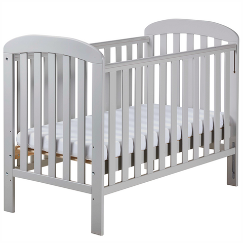 East Coast Anna Dropside Cot - White - The Stork Has Landed