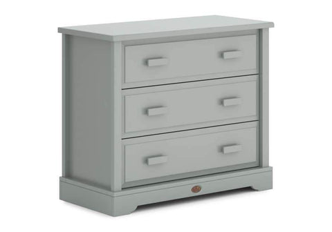 Boori 3 Drawer dresser (with Squared Changing station) - Pebble