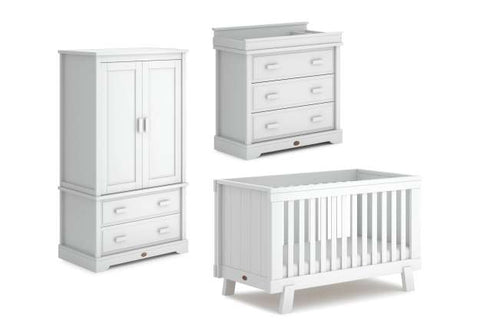 Boori Lucia 3 Piece Set - Barley White