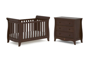 Boori Sleigh Expandable 2 Piece Set - Coffee
