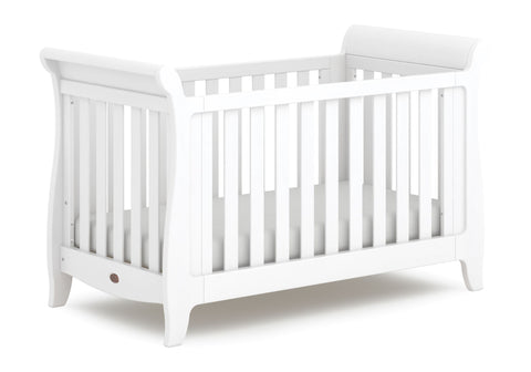 Image of Boori Sleigh Expandable Cot Bed - Barley - The Stork Has Landed