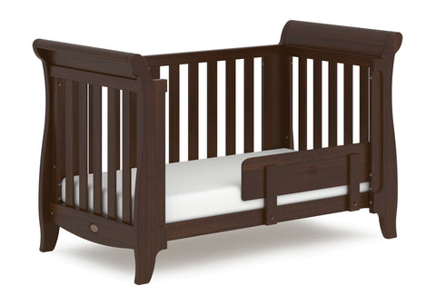 Image of Boori Sleigh Expandable Cot Bed - Coffee